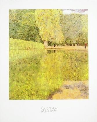 Gustav Klimt Der Park in Schonbrunn