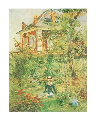 Edouard Manet Der Garten in Bellevue