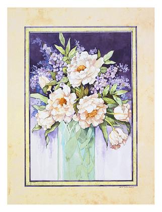 Sandi Gore Evans 2er Set 'Lavender Mist' + 'Lavender Showers'