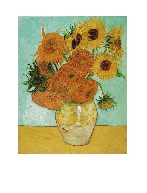 Vincent Van Gogh Sonnenblumen Das Bekannte Poster Kunstdruck Bild
