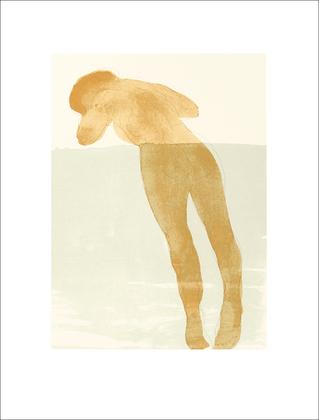 Auguste Rodin Reclining female nude 1900