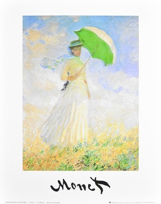 Claude Monet Donna con parasole II