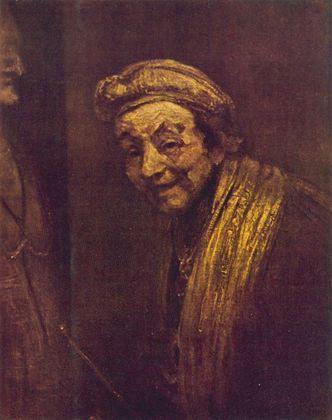 Rembrandt Lachendes Selbstbildnis