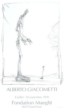 Alberto Giacometti Dessin II