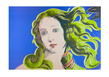 Andy Warhol Venus blau