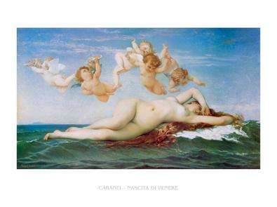 Alexandre Cabanel Nascita di Venere