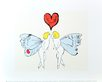 Andy Warhol I Love You So c.1958 (angel)