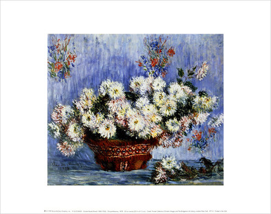 Claude Monet Chrysanthemums, 1878