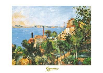 Paul Cezanne La Mer a l Estaque