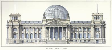Architektur Reichstag Berlin