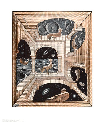 MC Escher Andere Welt