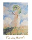 Claude Monet Donna con parasole I  1886