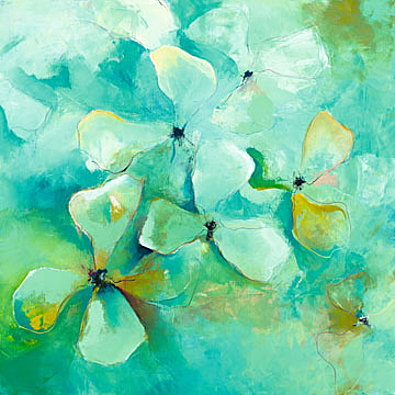 Anne L Strunk Floating Flowers