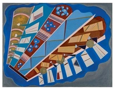 Wassily Kandinsky Mit und Aufeinander