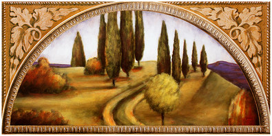 Paul Jensen 2er Set 'Autumn in Tuscany I + II'