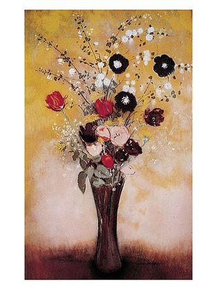 Odilon Redon Vase of Flowers