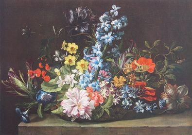 Jan van den Hecke Blumenkorb