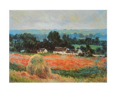 Claude Monet Heuschober bei Giverny