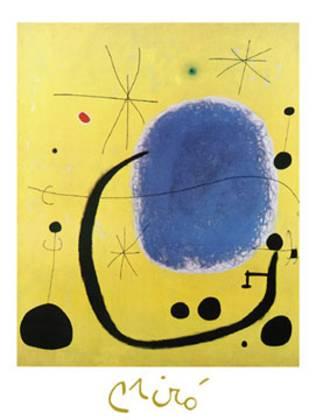 Joan Miro Loro dell Azzurro