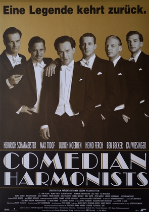 Kinoplakat Comedian Harmonists