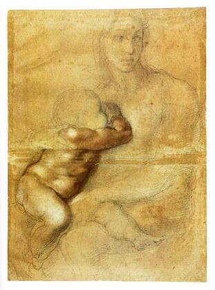 Michelangelo Madonna and Child