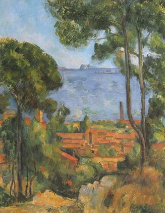 Cezanne paul ansicht von estaque   1896 large