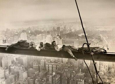 Charles Ebbets Sleeping above Manhattan