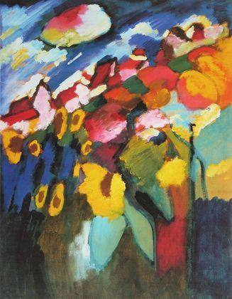 Wassily Kandinsky Murnau Garten II   1910