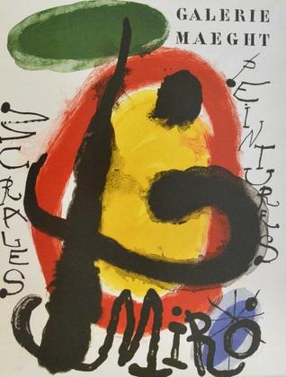 Joan Miro Murales peintures