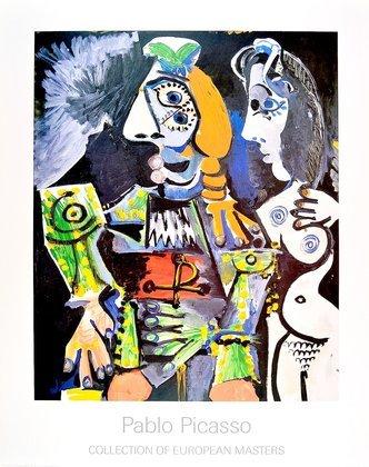 Pablo Picasso Matador et femme nue