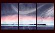 Anthony Salmona Ohne Titel (3 Teile = 90 x 171cm)