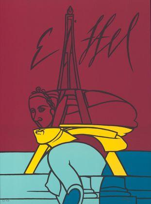 Valerio Adami Eiffel