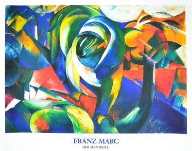 Marc franz der mandrill  1912 large