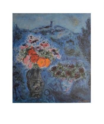 Marc Chagall Veilchenstrauss