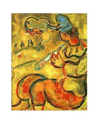 Marc Chagall Der gelbe Clown