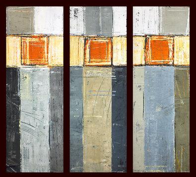Ralf Bohnenkamp 3er Set 'Triptychon I - III'