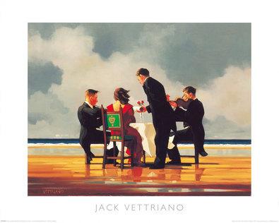 Jack Vettriano Elegy for a dead Admiral