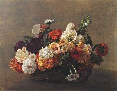 Henri Fantin-Latour Blumenstueck