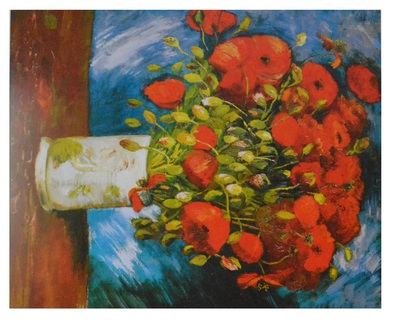 Vincent  van Gogh Mohnblumen