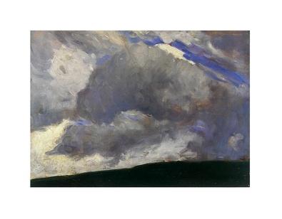 Otto Modersohn Die Wolke