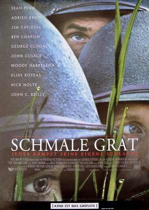 Kinoplakat Der schmale Grat