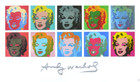 Warhol andy ten marilyns medium