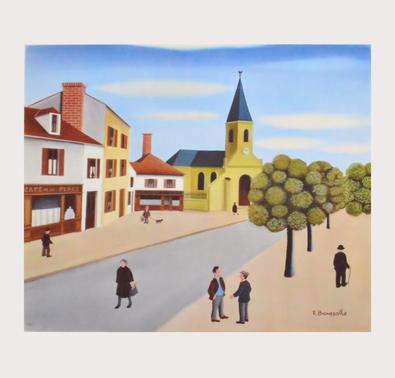 Robert Broussolle Kirchenplatz