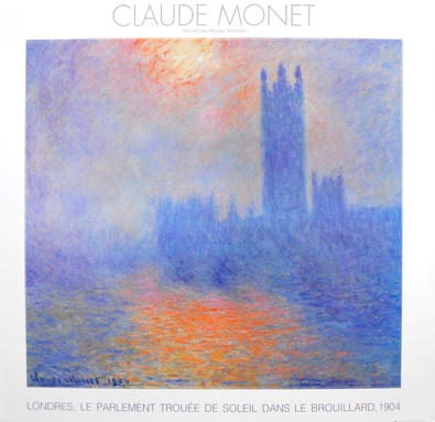 Claude Monet London  Houses of Parliament