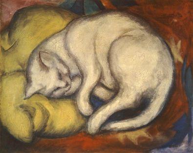 Franz Marc Die weisse Katze