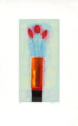Russel Baker Red Vase (1999)