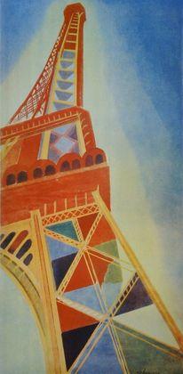 Robert Delaunay Der Eiffelturm