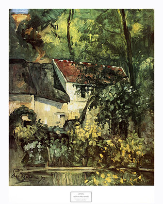 Paul Cezanne House of Pere Lacroix (gross)