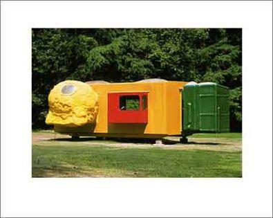 Joep van Lieshout Mobile Home for Kroeller Mueller 1995