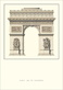 Architektur Paris Arc de Triomphe